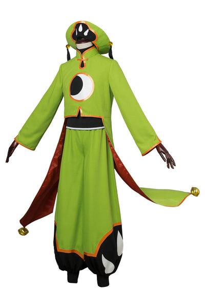 Cardcaptor Sakura :Clear Card Ri Shaoran Battle Outfit Cosplay Costume