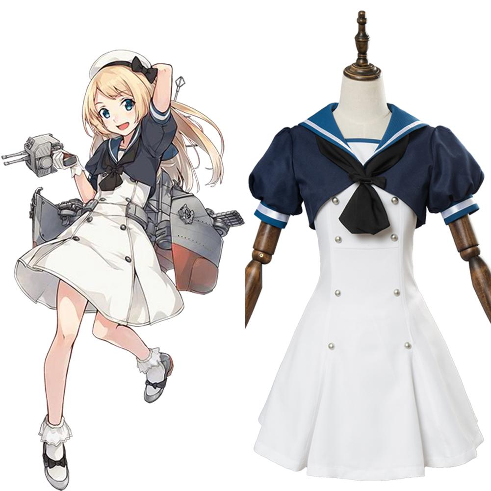 Kantai Collection Jarvis Dress Cosplay Costume