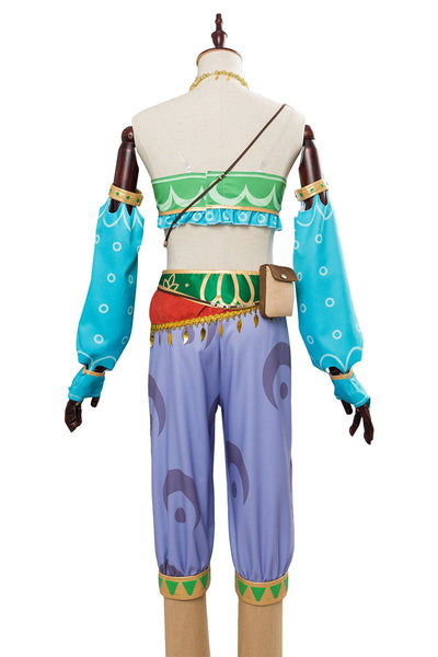 The Legend of Zelda: Breath of the Wild Link Outfit Cosplay Costume for females women