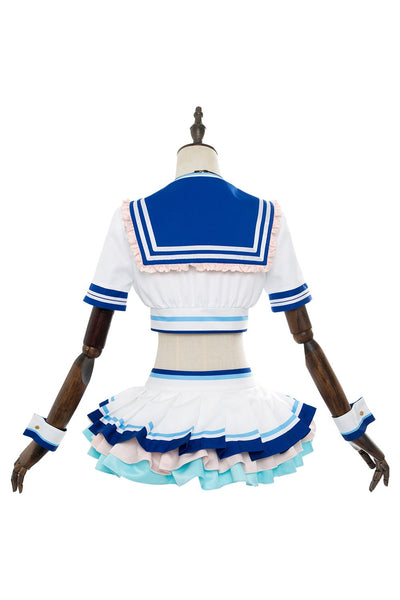 Love Live! Sunshine!! You WatanabeG's Magazine Sailor Suit Swimsuit Cosplay Costume