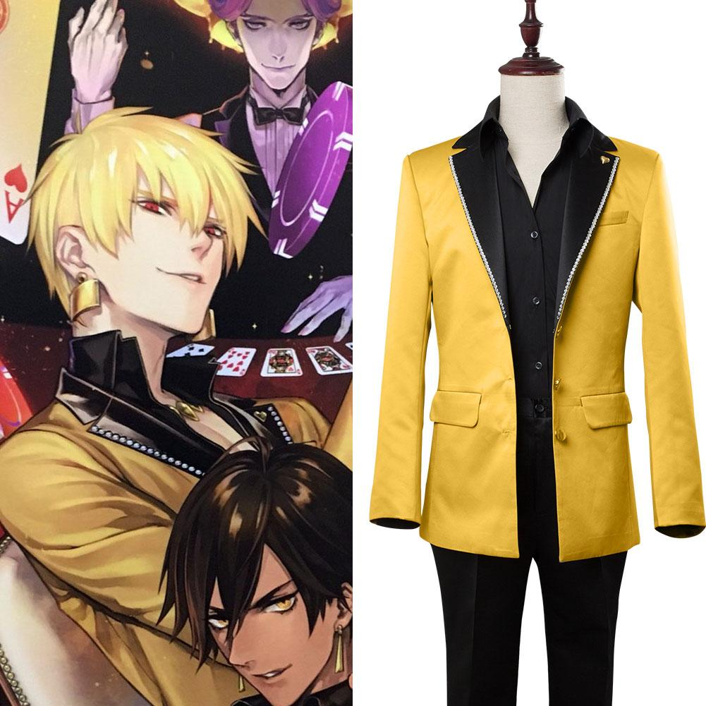 Fate/Grand Order FGO Gilgamesh Caster Cosplay suit costume