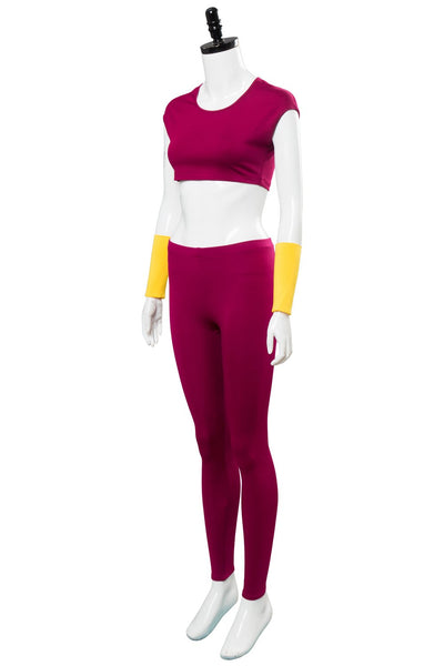 Dragonball Super Kefla Kefura Legendary Super Saiyan Potara Fusion Uniform Outfit Cosplay Costume
