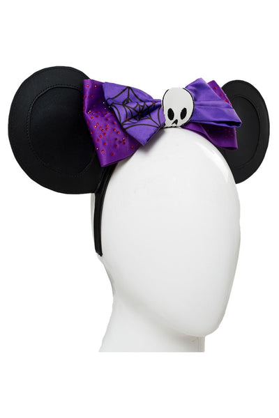 Disney Minnie Mouse Outfit Dress Halloween Cosplay Costume Purple