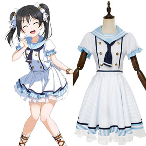 LoveLive Nico Yazawa Dress Cosplay Costume SSR Pirate Ver