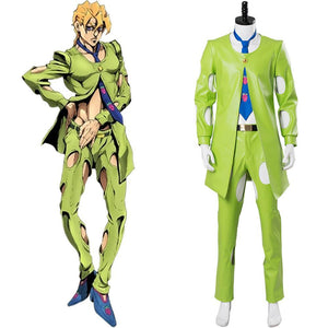 JoJo's Bizarre Adventure: Golden Wind Pannacotta Fugo Cosplay Costume