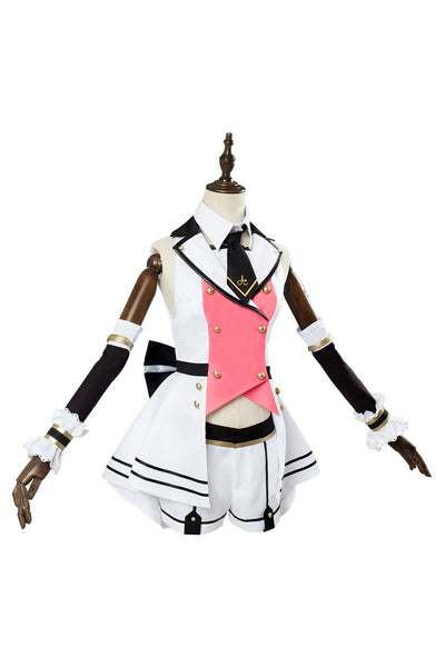 A.I.Channel Kizuna AI Cosplay Costume Girls Pink Sexy Outfit