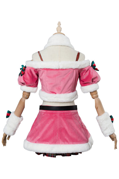 A.I.Channel Kizuna AI Christmas Dress Cosplay Costume