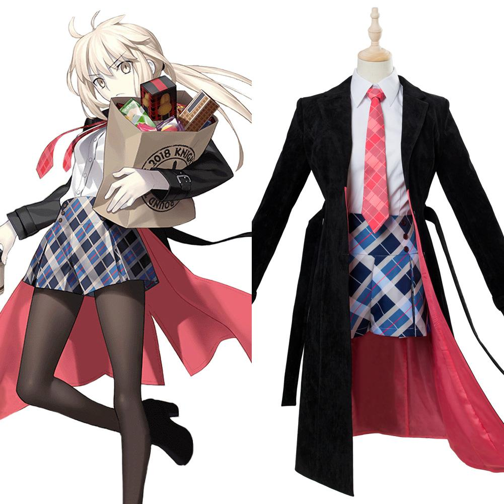 Fate/Grand Order Altria Pendragon Cosplay Costume Third anniversary Outfit