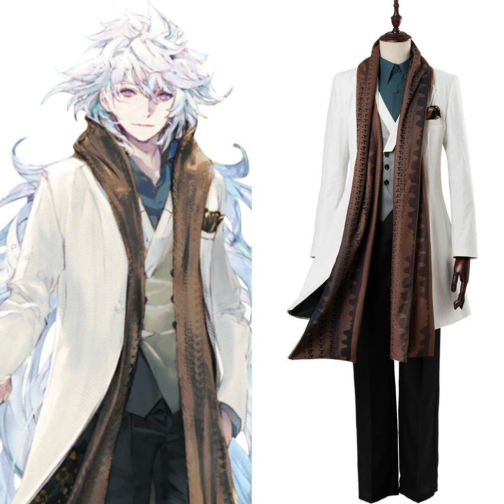 Fate/Grand Order Merlin Cosplay Costume FGO Third Anniversary Outfit