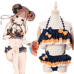 Fate/Grand Order Abigail Williams Cosplay Costume Girls Swimsuit