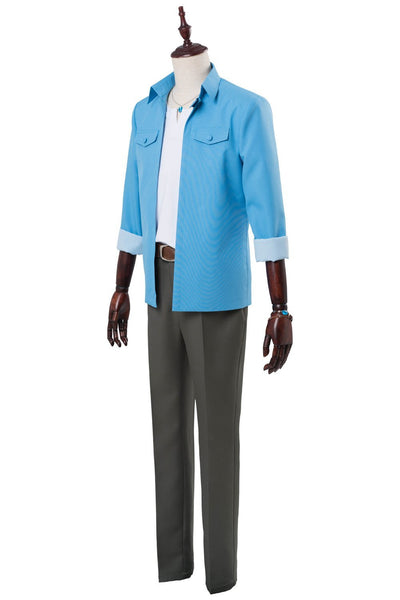The Most Huggable Man Has Threatened Me Jyunta Azumaya Cosplay Costume