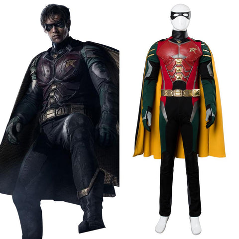 2018 Titans Richard Grayson Robin Cosplay Costume