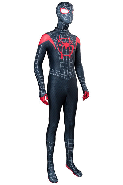 Spider-Man: Into the Spider-Verse Miles Morales Outfit Cosplay Costume