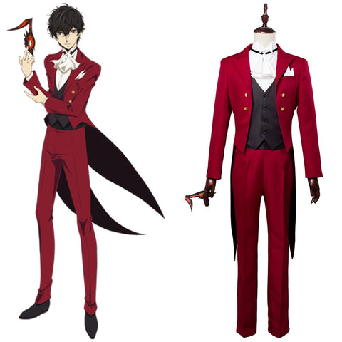 Persona 5 P5 Ren Amamiya Masquerade Party Cosplay Costume