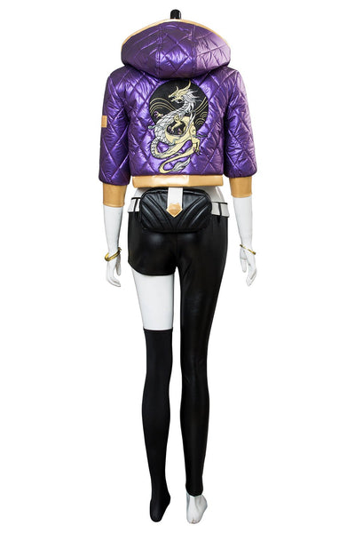 League of Legends The Rogue Assassin Akali K/DA Skin Cosplay Costume