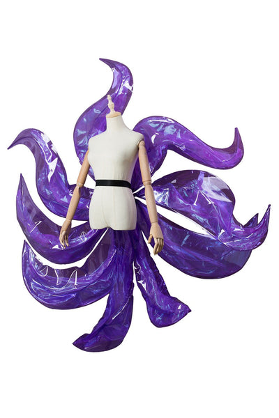 League of Legends the Nine-Tailed Fox Ahri Tails K/DA Skin Cosplay Outfit