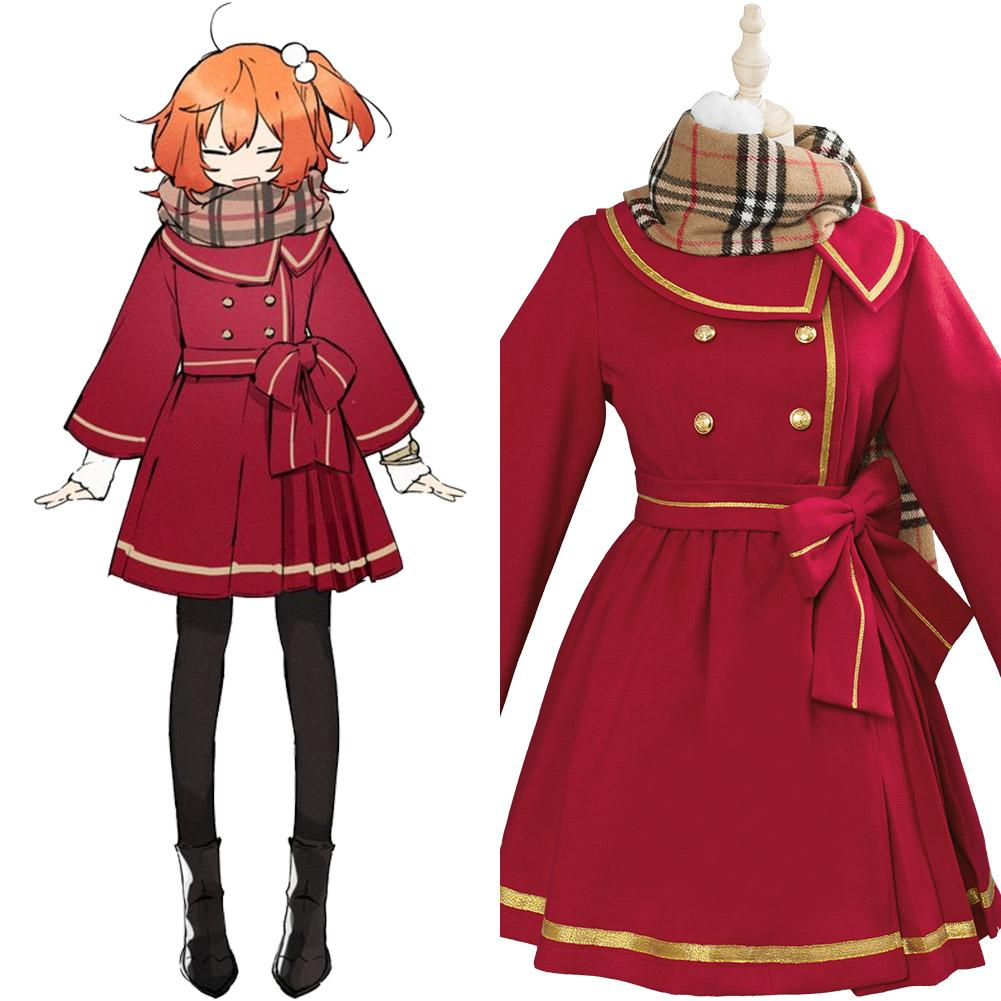 Fate/Grand Order Fujimaru Ritsuka Female New Year Outfit Cosplay Costume