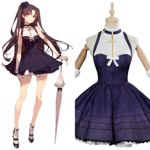 Fate/Grand Order Ishtar Cosplay Costume Moon Goddess Event Outfit Adult Female