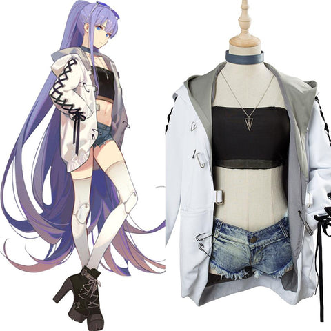 Fate/Grand Order Lilith Cosplay Costume Moon Goddess Event Outfit