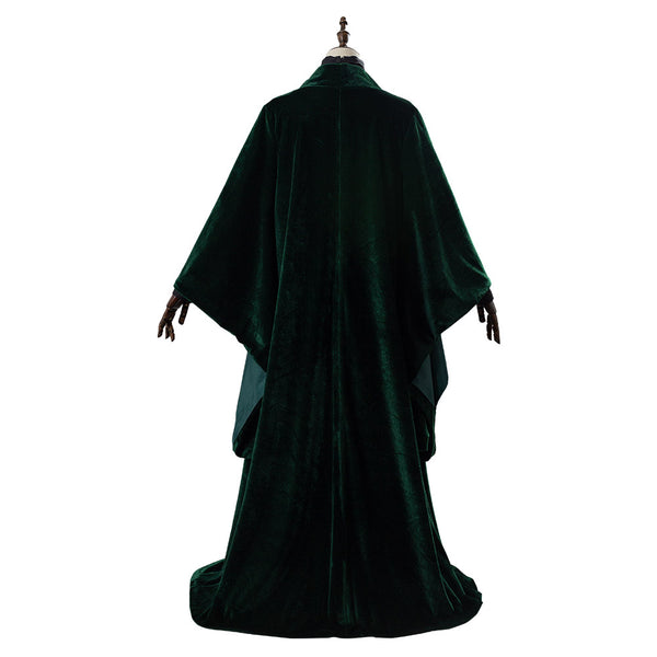 Harry Potter Minerva McGonagall Robe Cosplay Costume