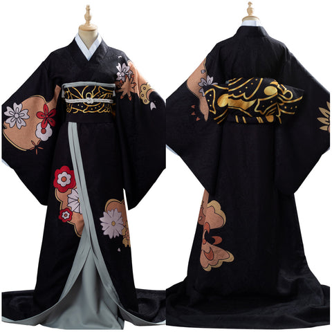 Kibutsuji Muzan Female Form Demon Slayer: Kimetsu no Yaiba Dress Cosplay Costume