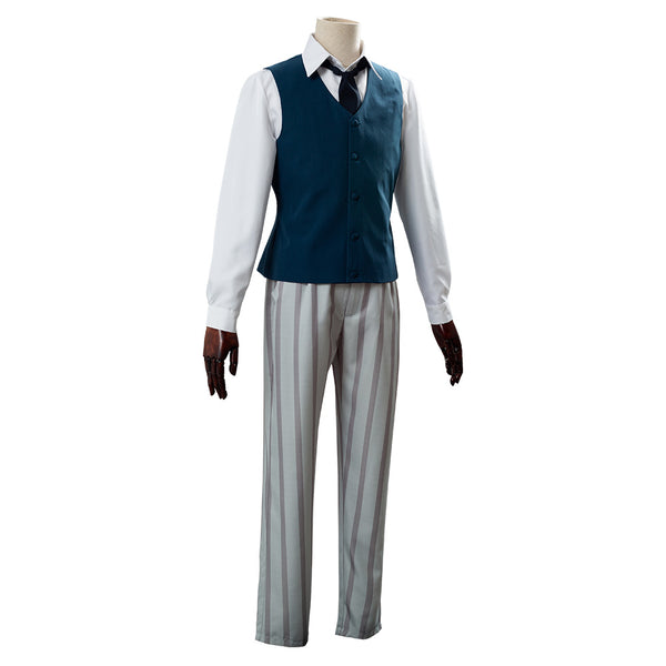 Cherryton High School Boys Beastars Legosi Louis Outfit Cosplay Costume