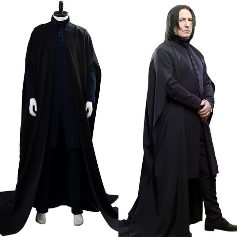 Harry Potter Severus Snape Robe Cosplay Costume