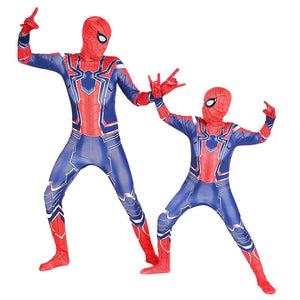 Avengers Spider-man Jumpsuits Costume Cosplay For Child Halloween
