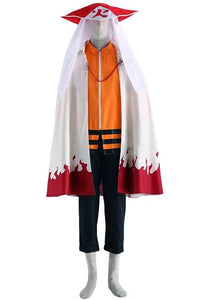 Naruto: The Seventh Hokage and the Scarlet Spring Naruto Cosplay Costume