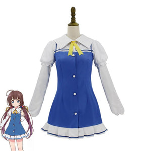 Ryuuou no Oshigoto! The Ryuo's Work is Never Done! Hinatsuru Ai Dress Cosplay Costume