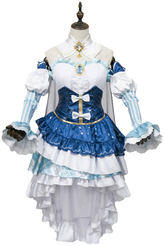 2019 Snow Miku Dress Cosplay Costume Vocaloid Outfit