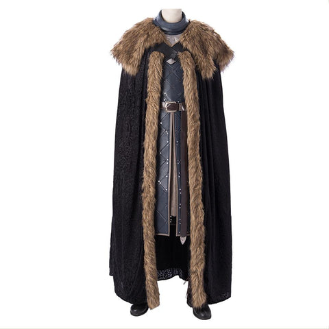 Game Of Throne Jon Snow Full Set Cosplay Costume