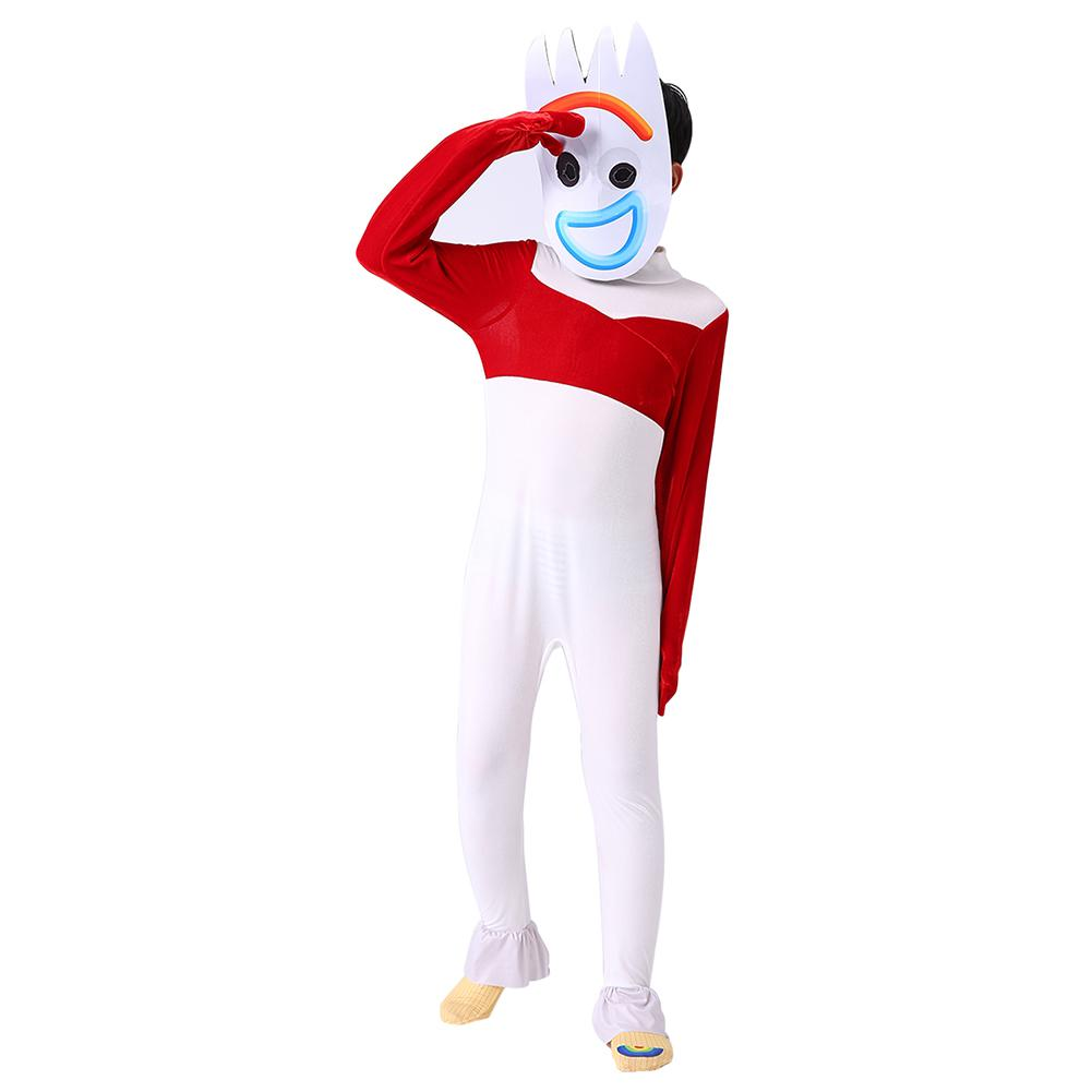 Toy Story 4 Halloween Costumes.Toy Story 4 Forky Halloween Costume Kids Child