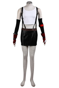 Final Fantasy VII FF7 Tifa Lockhart Outfit Cosplay Costume