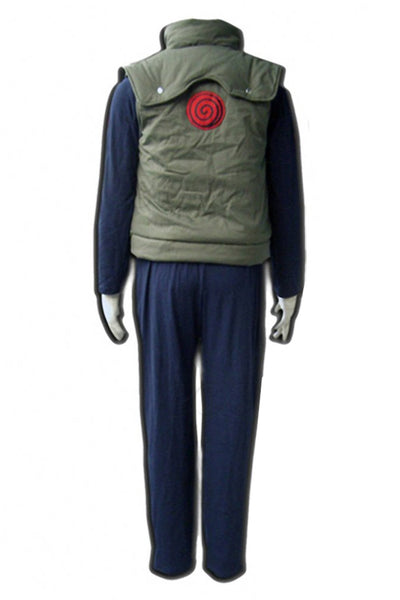 Naruto Hatake Kakashi Child Kid Cosplay Costume Whole Set