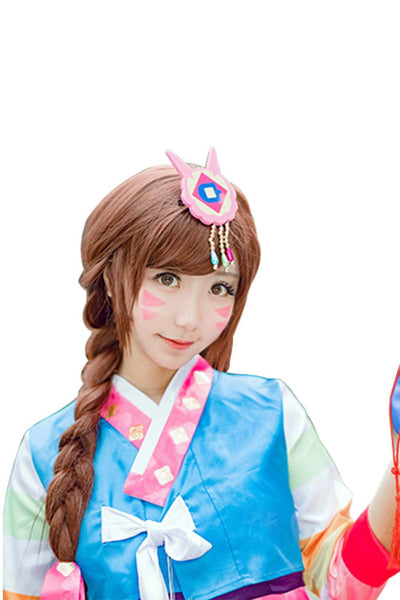 Overwatch OW DVA Hana Song Korean traditional cosplay costume