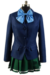 Accel World Kuroyukihimei School Uniform Cosplay Costume