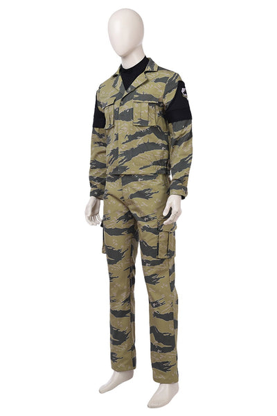 Metal Gear Solid V: The Phantom Pain Snake Outfit Cosplay Costume