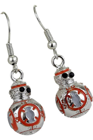 Star Wars BB8 3D Drop Earrings Robot Pendant  Cosplay Accessories