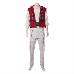 2019 Disney Movie Aladdin Cosplay Costume