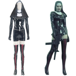 Rosewood Orphanage Sister Nun Hitman 5: Absolution Outfit Cosplay Costume