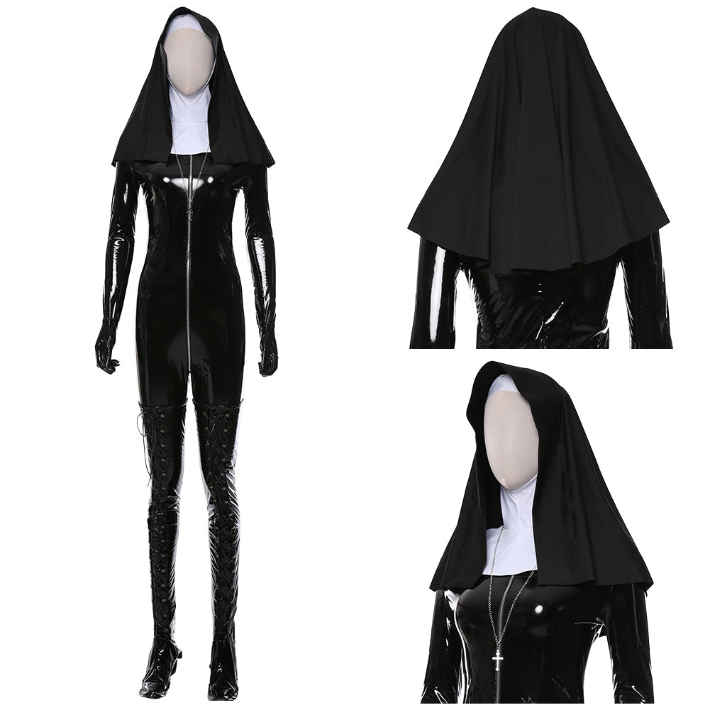 Sister Rosewood Orphanage Nun Hitman 5: Absolution Uniform Cosplay Costume