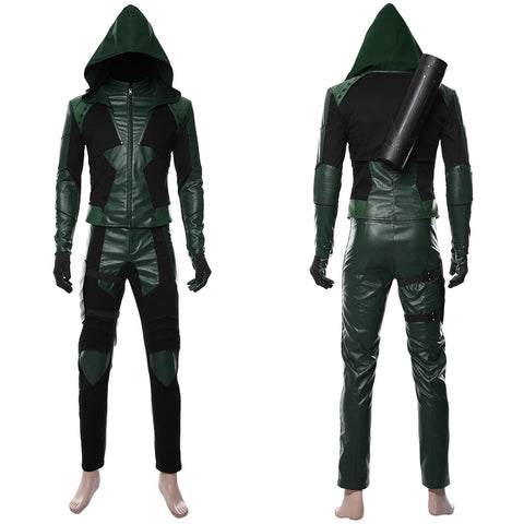 Green Arrow Season 8 Oliver Queen S8 Cosplay Costume