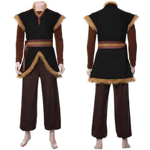 Frozen 2 Prince Kristoff Uniform Cosplay Costume