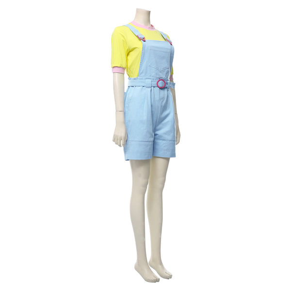 Stranger Things Season 3 Erica Sinclair Suit Cosplay Costume