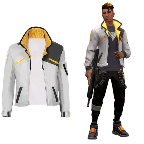 Phoenix Men Jacket Coat Only Game Valorant Cosplay Costume