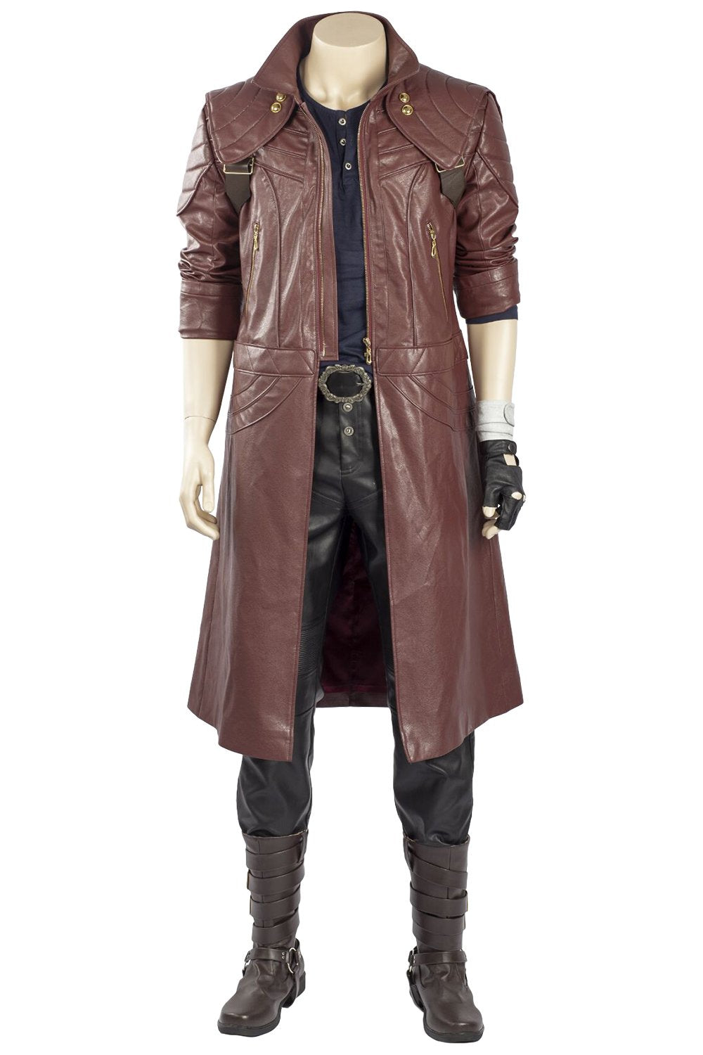 Devil May Cry 5 Dante Outfit Trenchcoat Cosplay Costume ...