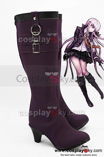 Danganronpa Ky?ko Kirigiri Cosplay Boots Shoes Custom Made