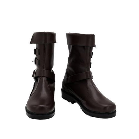 Final Fantasy VII Remake Aerith Gainsborough Boots Halloween Costumes Accessory Cosplay Shoes