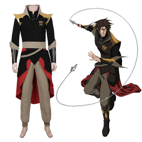 Castlevania Season 3-Trevor Belmont  Cosplay Costume Halloween Carnival Outfit